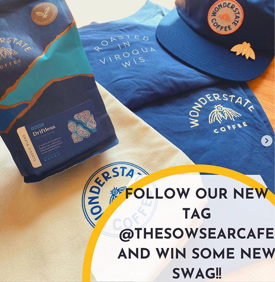 Follow @TheSowsEarCafe on Instagram